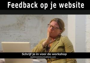 feedback op je website
