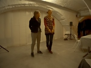 organisatoren verhaaldiner Anneke en Mieke