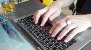 schrijfgewoontes op de laptop