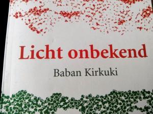 schrijfgewoontes van dichter Baban Kirkuki
